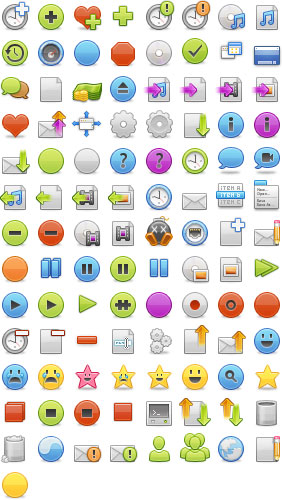 Developpers Icons Preview