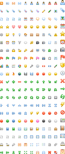 Pi Diagona Icons