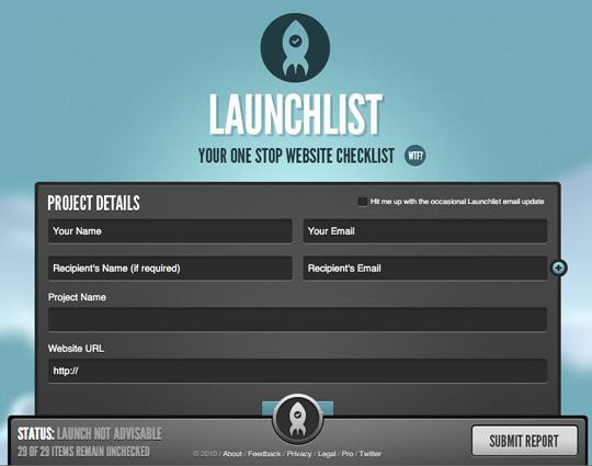 Launchlist