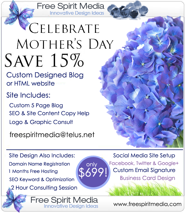 Free Spirit Media Mothers Day Sale