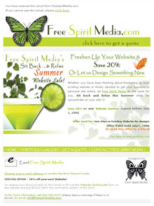 Free Spirit Media Summer Special